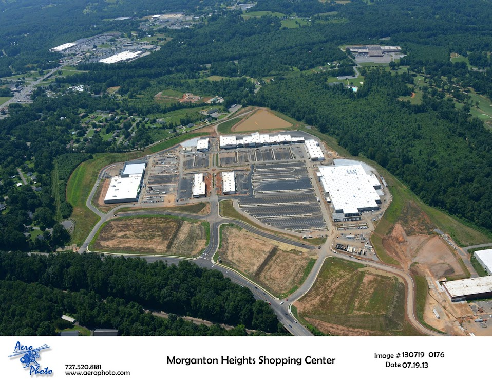 Morganton Heights Aerial 1