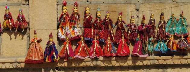 Local handicrafts on sale outside Patwon ki Haveli, Jaisalmer