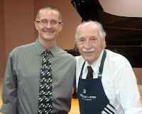 Chad Mitchell & Franz Mohr, Steinway Showroom, Scottsdale, AZ, 2012
