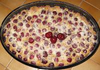 Clafoutis aux cerises - recette indexée dans les Desserts