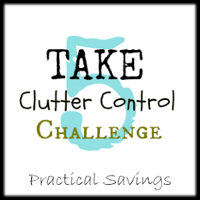 Take 5 Clutter Control Challenge - Practical Savings