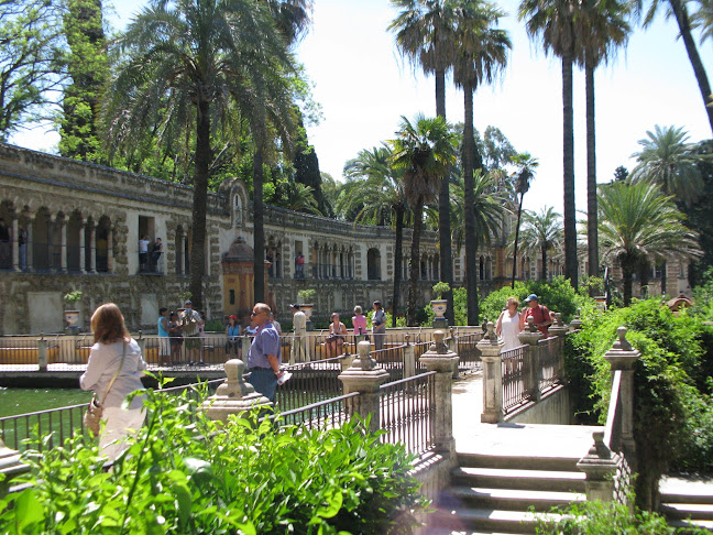 Garden of Alcázar of Seville, Seville, Spain