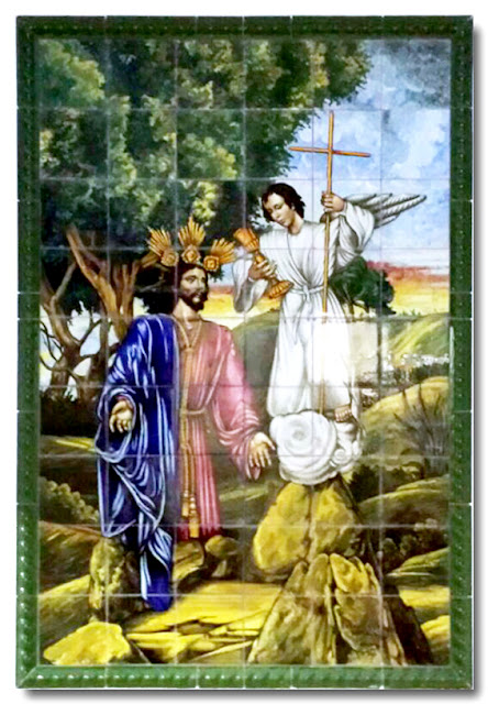 Azulejo Sagrada Oración en el Huerto