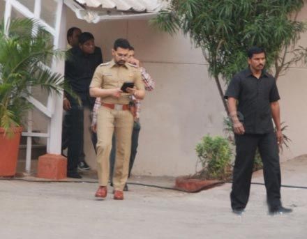 aamir khan's new look in upcoming movie