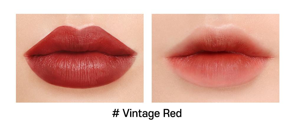 Son INGA Flat Liquid Lipstick Vintage Red