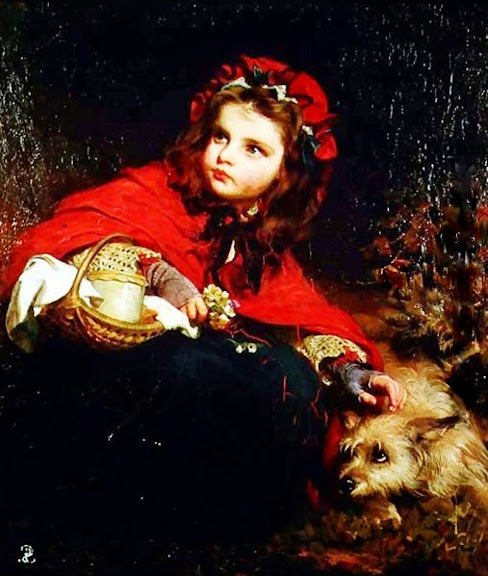 James Sant - Little Red Riding Hood