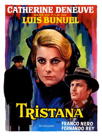 """Cartel de la película de Luis Buñuel """"Tristana"""""""