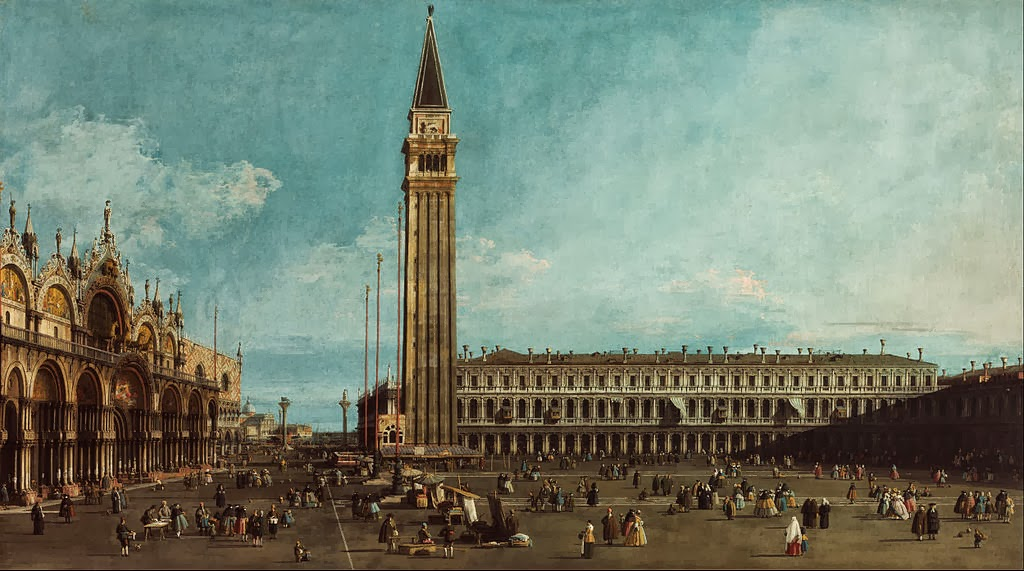Canaletto - The Piazza San Marco, Venice