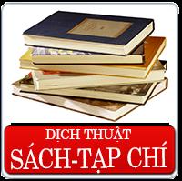 Dịch thuật sách chuyên nghành như kinh tế, chính trị, văn học, lịch sử y tế v..v