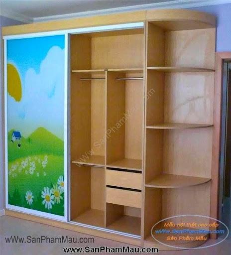 Các mẫu tủ quần áo bằng gỗ công nghiệp-9