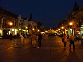Abends in Sombor