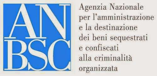 ANBSC Agenzia Nazionale amministrazione beni sequestrati