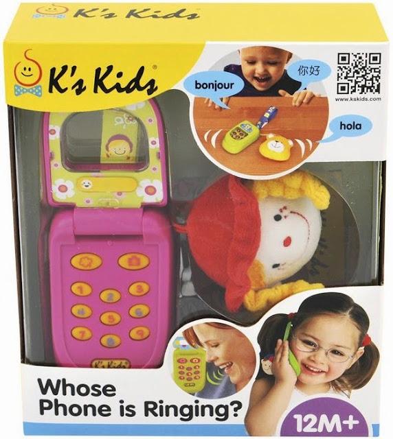 Điện thoại cho bé Julia K's Kids mã KA10517-GB là món quà mang đến cho Bé sự thích thú và ngạc nhiên