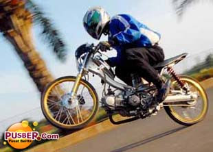 Foto Foto Motor Drag Indonesia Dan Video Pusber Motor Drag Ninja - f