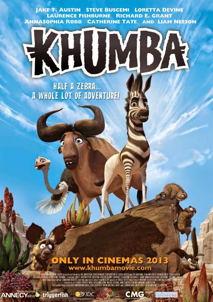 Κούμπα: Μια Ζέβρα Και Μισή (Khumba) Poster