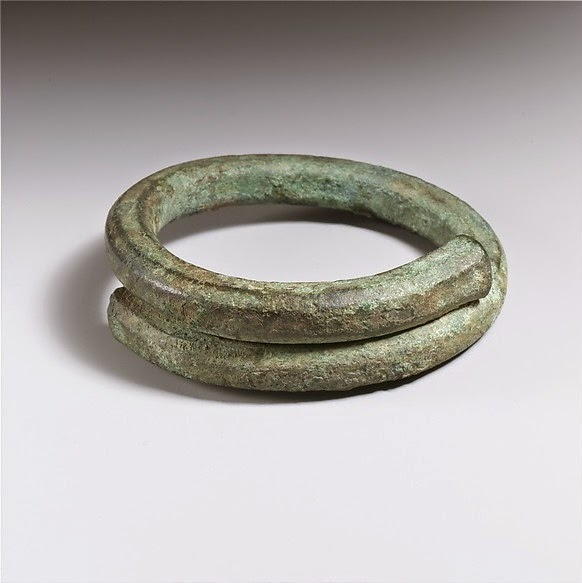 Roman Bronze Bangle from The Metropolitan Museum