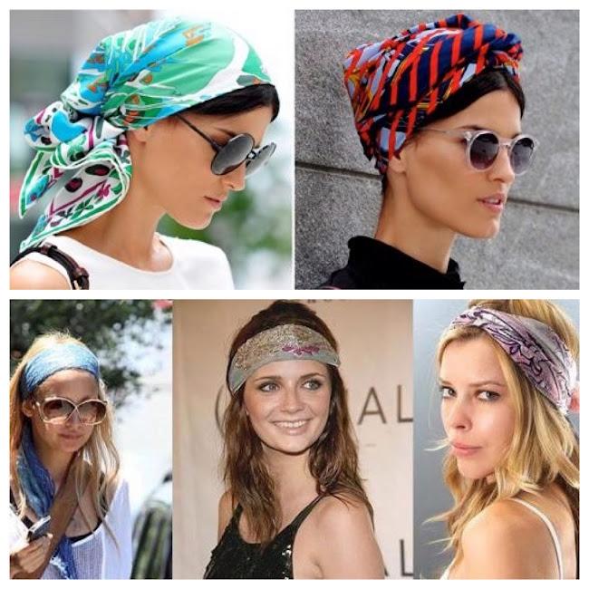 Formas de poner un pañuelo en la cabeza