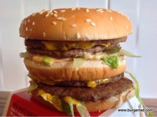 McDonald's Mega Mac UK
