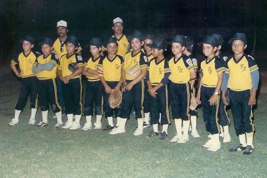 Liga Treviño Kelly de Reynosa, Tamaulipas en el campeonato nacional de ligas pequeñas división menor de 1986