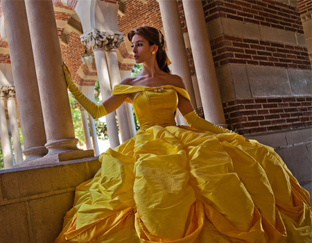 Maquiagem inspirada na princesa da Disney Bela