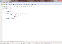 screenshot of Notepad2 programmer's text editor