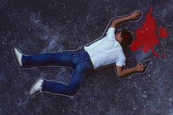 Papi El Cojo mata un joven hiere dos en SPMDesconocidos persiguen a cabo  PN a quien hirieron de bala hace algunos meses