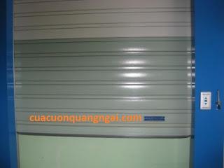 Cửa cuốn tấm liền TM AUSTDOOR tại Quảng Ngãi