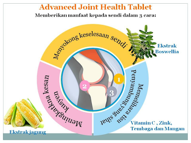 shaklee advanced joint health tablet (ajht) Hilangkan Sakit Sendi Dengan Shaklee Advanced Joint Health Tablet (AJHT) 2