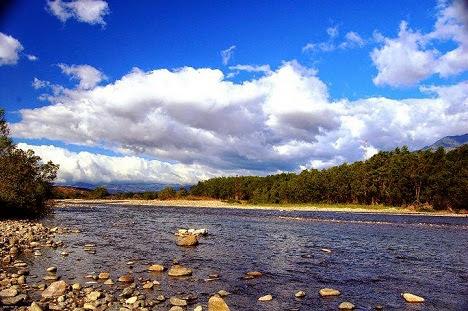 Río Lempa en Citalá, Chalatenango