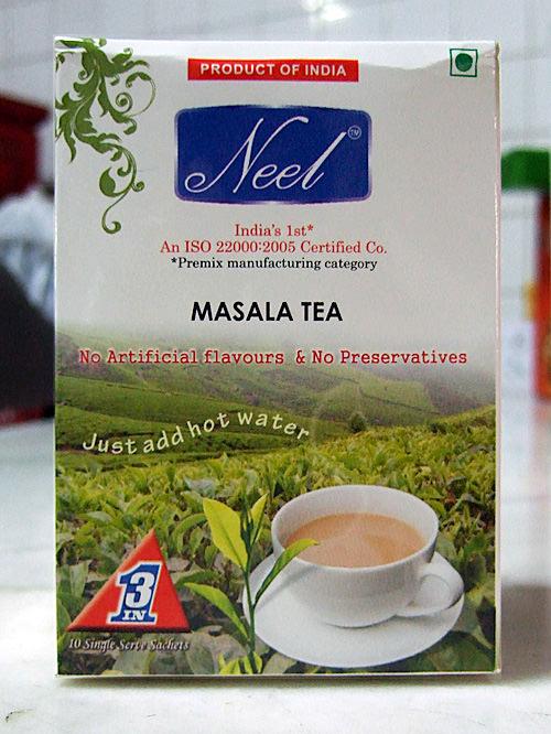 Neel masala tea