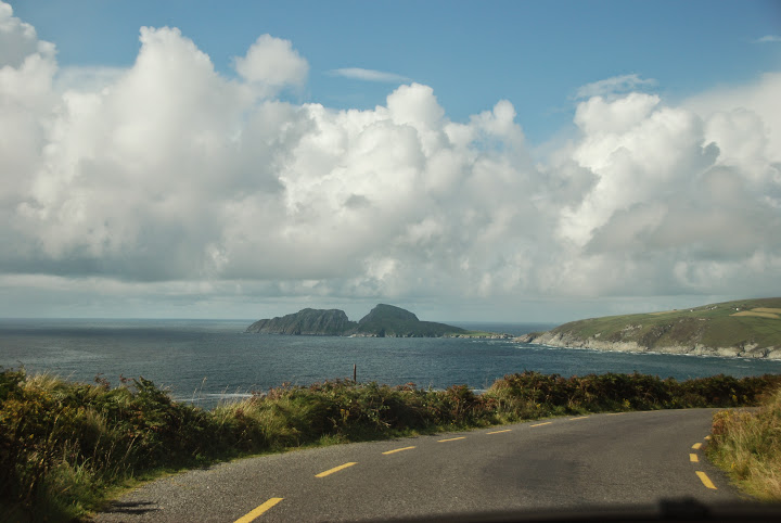 Driving the Skellig Ring - Puffin Island, Ireland