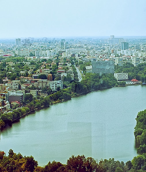 panorama bucuresti sky tower august 2013