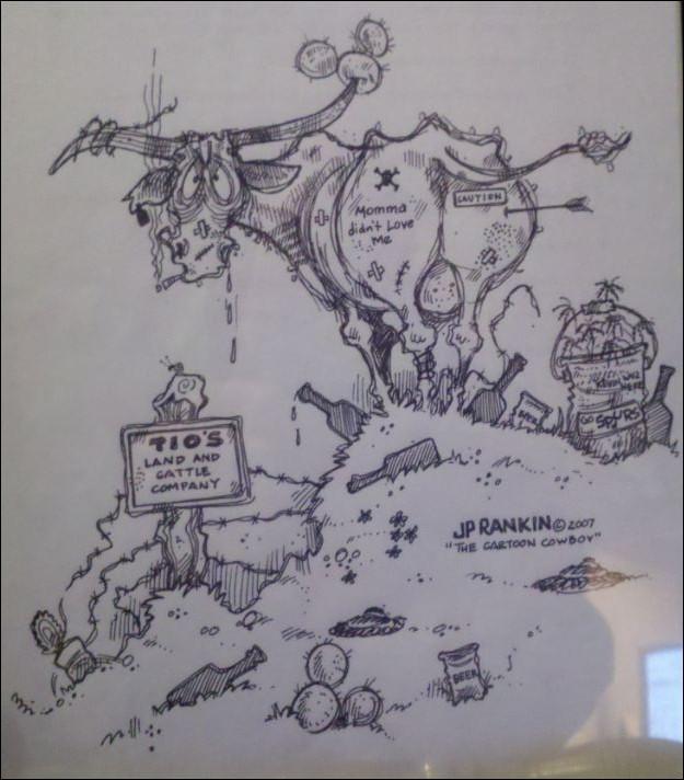 "JP RANKIN ""The Art of THE CARTOON COWBOY"": 2/27/11 - 3/6/11"