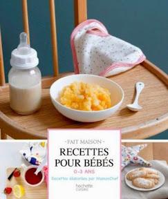 Livre recettes pour bébés