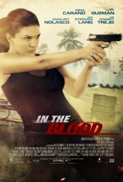 Poster Of English Movie In the Blood (2014) Free Download Full New Hollywood Movie Watch Online At Alldownloads4u.Com