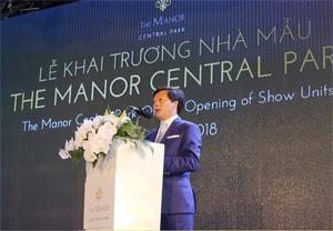 Chủ tịch Bitexco ông Vũ Quang Hội