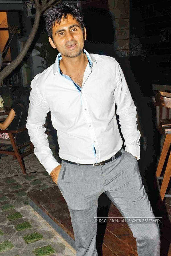 Sandeep Jaglan during a Sufi night, held at Sutra Gastropub, in Gurgaon.