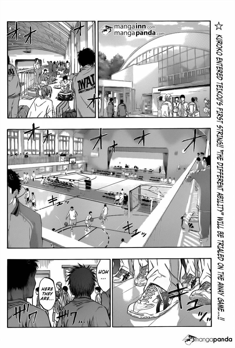 Kuroko no Basket Manga Chapter 208 - Image 02