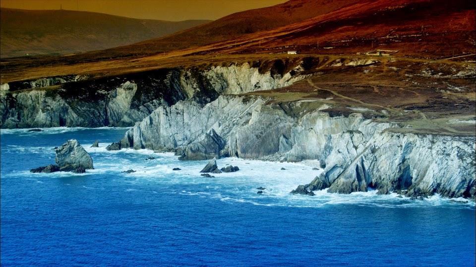 West Cork Beach. From Driving Ireland's Wild Atlantic Way