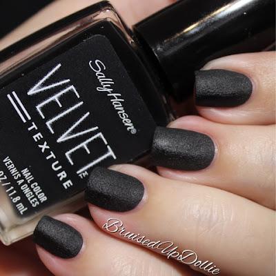 Sally Hansen Velvet Texture Velveteen Swatch