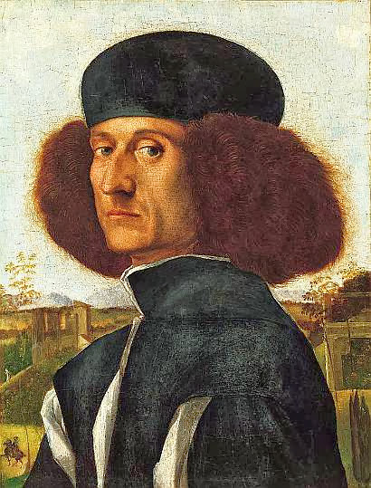 Vittore Carpaccio - Portrait of a Venetian Nobleman