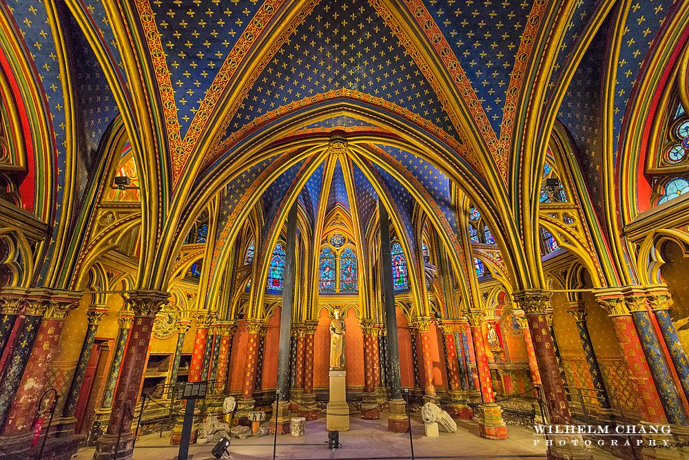 到巴黎攝影 聖禮拜堂 La Sainte-Chapelle by 旅行攝影師張威廉 Wilhelm Chang Photography