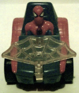 Front view of Spider-Man buggy 1996