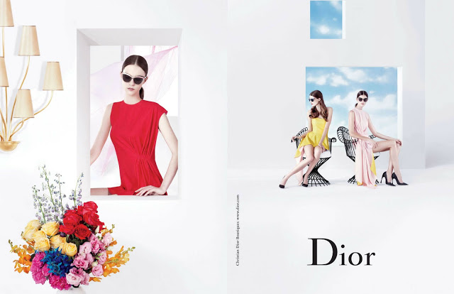 Christian Dior Sunglasses Campaign Spring Summer 2013