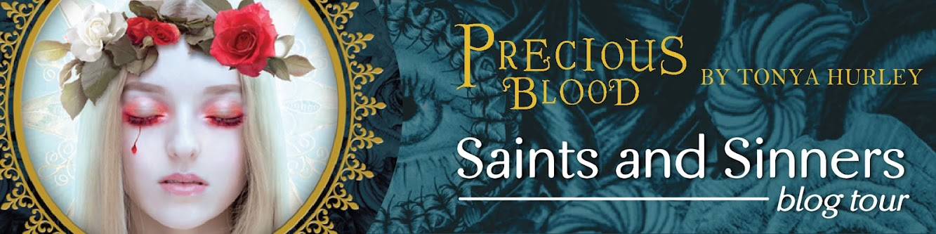 Guest Post & Giveaway — PRECIOUS BLOOD by Tonya Hurley PRIZE PACK!