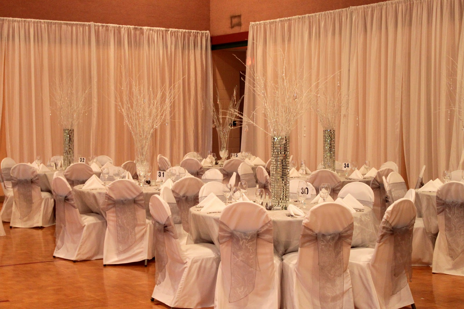 The Tres Chic Bride Wedding Reception Transformed With