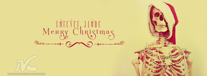 Ảnh bìa Merry Christmas đẹp độc đáo