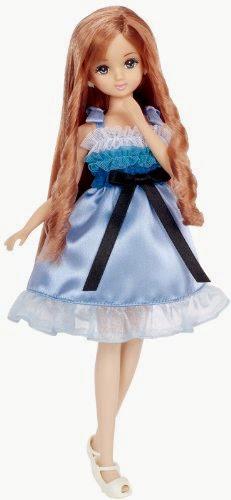 Búp bê làm tóc Maria có khuôn mặt mang đậm tính cách Á Đông