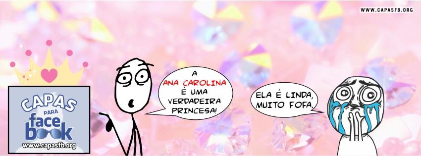 Capas para Facebook Ana Carolina