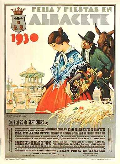 Cartel Feria Albacete 1930